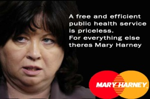 The Definition of Irony - our minister for health Mary Harney