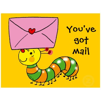 You've got mail! | Girl from the Hills Blog