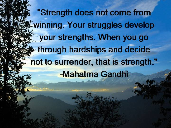 Strength Quotes Daily Inspiration Quotations Courage Hope Positive Thoughts