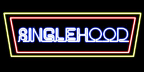 singlehood neon double frame