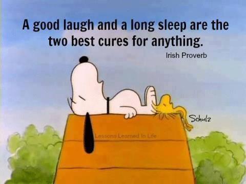 Ένας  καλός ύπνος..