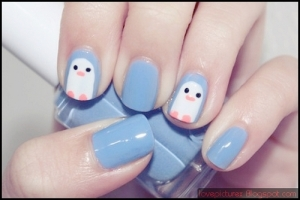 nail penguins